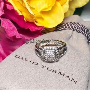 ❤️David Yurman Petite Albion Ring with Diamonds